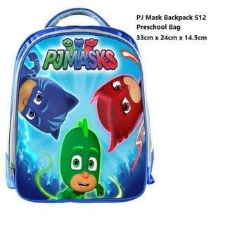 In stock: PJ Mask Preschool School Bag/ Backpack