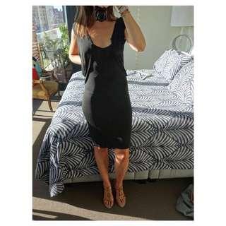 Diesel Black & Gold Dress (BNWT) - Black, Size 8/Small