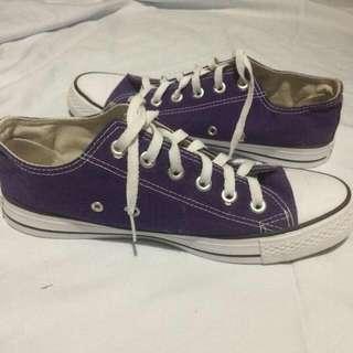 Purple Converse