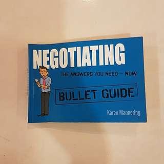 Negotiating Bullet Guide by Karen Mannering