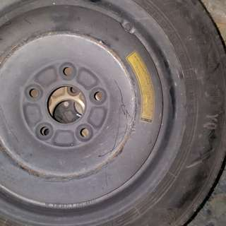 Spare tire 16in with 5 holes