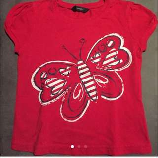 George Butterfly Top