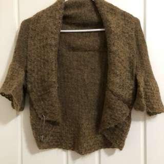 Brown cape