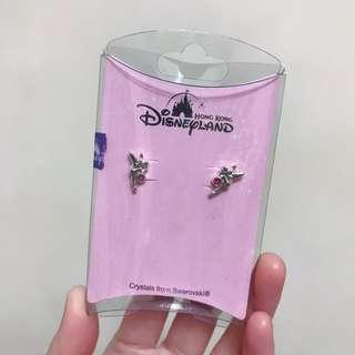 正版 Disney earrings