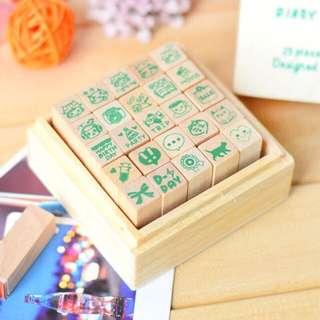 Korean Diary/Bullet Journal Stamp