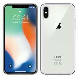 BNIB Iphone X 64 GB Silver