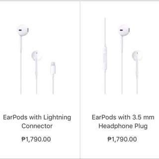 AUTH IPHONE 7 EARPODS