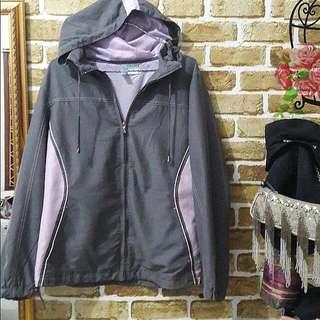 Jaket FUDA Grey Soft Pink Nett