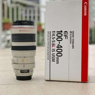 Canon ef 100-400mm mk i lens