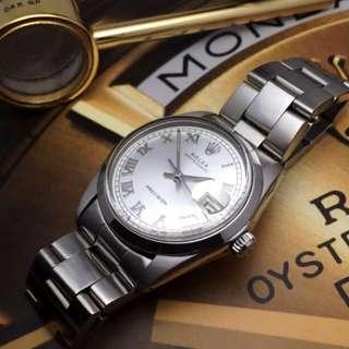 SOLD-   34mm Rolex 6694 Oysterdate