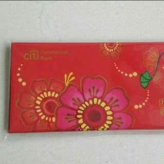 2016 Citi Commercial Bank Red Packet Ang Pau pow