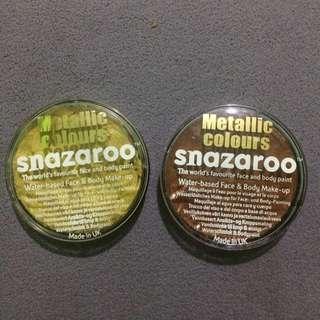 Snazaroo Metallic Body Paint (Bronze & Gold)