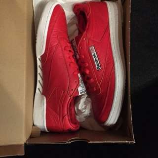 Reebok Club C 85 SO Triathlon Red