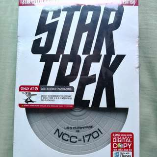 Star Trek Movie Dvd with Enterprise Model