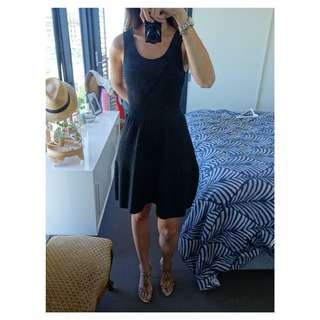 Gorgeous Sandro Black Dress (RRP $350)