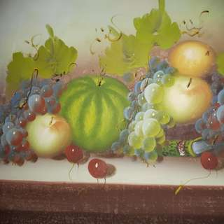 Fruits Oil Painting size : 57cm x 48cm