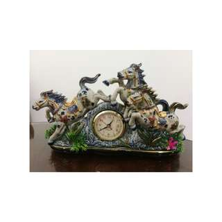 Horses clock