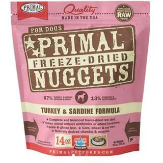 Primal Nuggets Sardine and Turkey Flavour