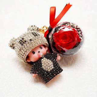 Baby Doll chain with flower ball