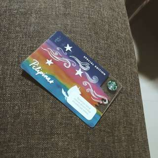 STARBUCKS LIMITED EDITION CARD - KAPE VINTA