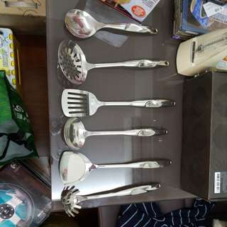 不銹鋼一套六件廚具