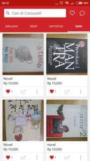 Obral novel murmer only 10k-15k