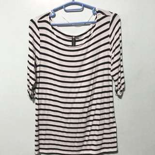 Cotton On Stripes Basic Shier