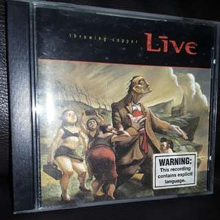English CD throwing copper live
