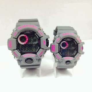 Gshock and baby G watches
