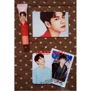 Reserved - WANNA ONE INNISFREE MY LIPBALM ( Seongwoo ver. ) + free gift ^^