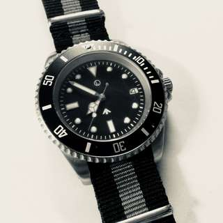 MWC 24 Jewel 軍錶 300m Stainless Steel British Army Military Automatic Submariners/Divers watch