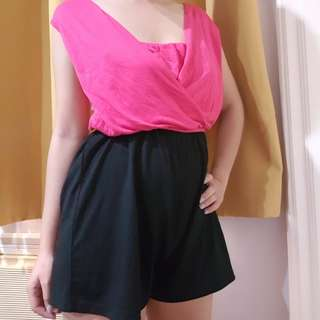 Romper (can be sleeveless or off shoulder)