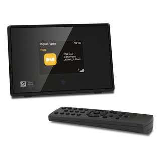 Ocean Digital DBA01C8 DAB / DAB+ / FM Bluetooth Radio Tuner Receiver with 2.8' TFT Color Display - Black