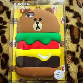 LINE Brown 熊大iPhone 6s plus 電話殻 B