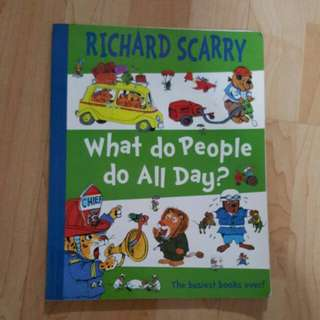 Richard Scarry - What do people do all day