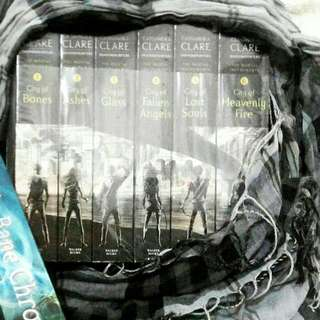 Imported English Book Novel The Mortal Instruments by Cassandra Clare Book 1- 6