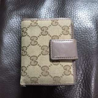 Gucci Wallet with coins
