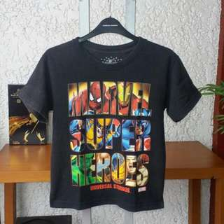 Marvel Superheroes By Universal Studios Kids Size Small