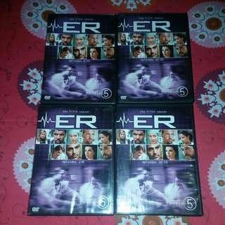 Original Dvd Copy ER Season 5