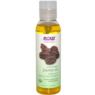 NOW - Organic Jojoba Oil 4 fl oz (118 ml)