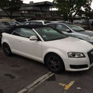 Audi A3 Cabriolet 1.8 Auto TFSI S-tronic