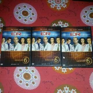 Take all Original Dvd Copy ER Season 6 (Episode 1-22)