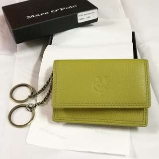 Authentic Marc O'Polo Lime Color Key Pouch