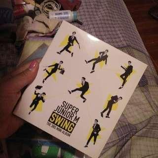 Super Junior 3rd Mini Album - Swing
