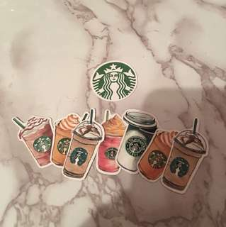 Starbucks Stickers 星巴克 貼紙