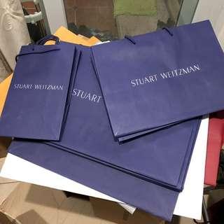 STUART WEITZMAN 紙盒紙袋 paper box paper bag