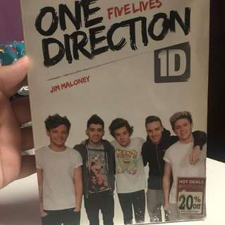 Unofficial One Direction Book:)