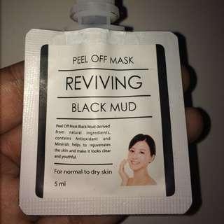 PEEL OFF MASK (Black Mud)