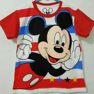 Mickey Mouse Kids SHIRT ( Size 1,2,4,5,6 years old)