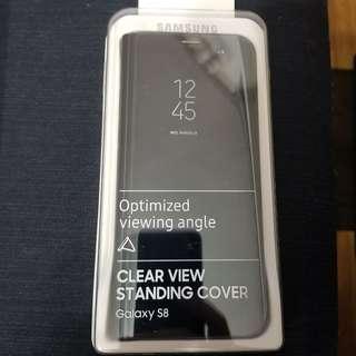 Samsung S8 透視感感皮套(直架式)